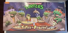 NECA TMNT Turtles In Disguise 4 Pack Target Exclusive In hand