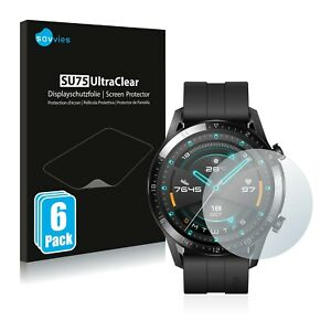 6x Pellicola Protettiva per Huawei Watch GT 2 (46 mm) Protezione Proteggi