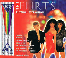 The Flirts - Physical Attraction 3 Disc, 48 Hits (2001, Germany) CD BRAND NEW