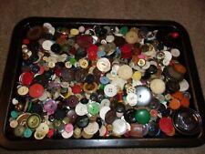 huge lot 1000 mixed buttons vtg, new novelty lot #2