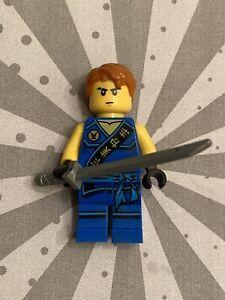 Genuine Lego JAY TOURNAMENT ROBE Ninjago Minifigure w Sword