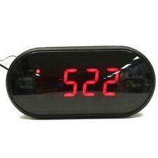 LED Display Digital AM/FM Radio Alarm Clock Buzzer Snooze Function