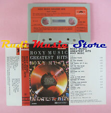 MC ROXY MUSIC Greatest hits 1973 italy POLYDOR 3100407 BRYAN FERRY cd lp dvd vhs