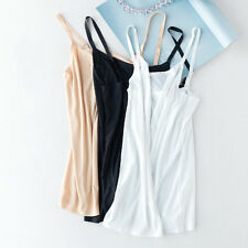Lady Camisole Vest Adjustable Shoulder Straps Singlet Summer Cami Top Tank Shirt