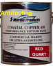 Coastal Copper 450 Multi-Season Ablative Antifouling Bottom Paint Red Quart