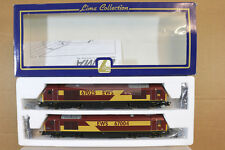 LIMA 204931 BR EWS CLASS 67 DIESEL LOCO SET 67025 67004 POST HASTE MIB nj