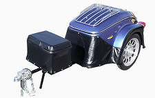 New listing Heritage Pull Behind Motorcycle Trailer Cargo Tow used for Harley Goldwing More