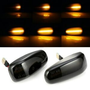 Sequential LED Side Marker Light Turn Signal Light For Benz CLK SLK W208 R170