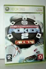WORLD CHAMPIONSHIP POKER 2 ALL IN USATO XBOX 360 EDIZIONE ITALIANA GP1 39822
