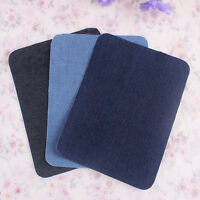 1pair Iron-on Elbow Knee Repair Decorative Denim Jeans Patches Sewing Applique,