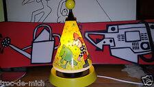 "Lampe Enfant Elkamet motorisée ""tournant""+musique  Vintage 1998  Design Janosch"