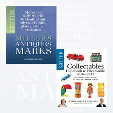 Judith Miller Collection 2 Books Set NEW Miller's Antiques Marks,Miller's Collec