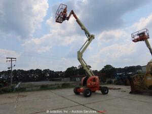 2014 JLG 450AJ 45' Articulating Boom Man Lift Aerial Gen Diesel Hyd Jib bidadoo