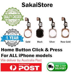 For iPhone 6 6S Plus Home Button With Flex Cable touch ID - LIFETIME WARRANTY