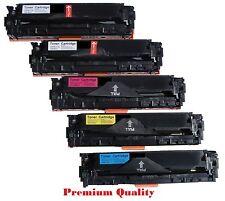 5PK CE320A CE321A CE322A CE323A NON-OEM Toner for HP128A LaserJet CM1415 CP1525