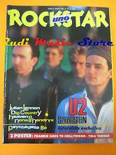 rivista ROCKSTAR 54/1985 POSTER Tina Turner Springsteen Julian Lennon U2 No cd
