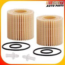Oil Filter 2pcs LEXUS For ES300H ES350 RX350 RX450H 2.5L V6 3.5L Engine