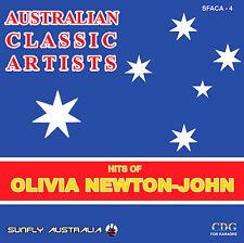 OLIVIA NEWTON-JOHN  HITS AUSSIE SUNFLY KARAOKE CD+G