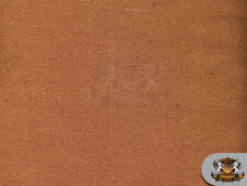 """Canvas Duck 10 oz Dyed Solid Fabric POTTING SOIL BROWN / 60"""" Wide / Sold BTY"""