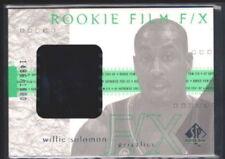 WILL SOLOMON 2001/02 SP AUTHENTIC RC ROOKIE GAME FILM #576/1600