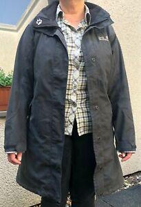 Jack Wolfskin Damen-Mantel OTTAWA marine Gr. M  (Funktionsjacke Outdoorjacke)