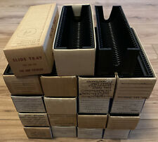 Job Lot 19 x Straight Universal 35mm Slide Projector Magazines, Capacity 30 each