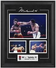 Muhammad Ali Framed 3-Photo vs. Leon Spinks Collage - Fanatics
