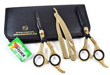 15.2cm Tijeras Peluquería Profesional Barbero Set con Cuchilla