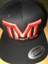 THE MONEY TEAM TMT BLACK AND RED SNAPBACK HAT BNWT