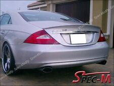 W219 CLS350 CLS500 CLS63 AMG Style Painted Silver Tail Wing Spoiler Lip 2004+