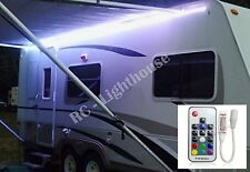RV LED Awning Light Set -w/ RF Remote control 17 key RGB+W 16.3' 5050 Waterproof
