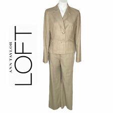 Ann Taylor Loft Pantsuit, blazer Laura pants 6