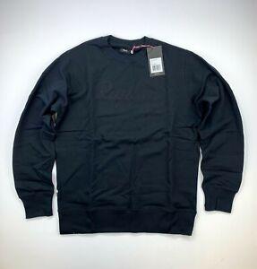 RAPHA Logo Sweat Shirt Black Size Large New