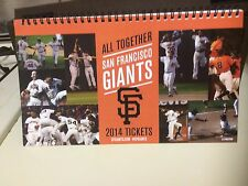 San Francisco Giants- 2014 FULL Season Ticket Book Stub -