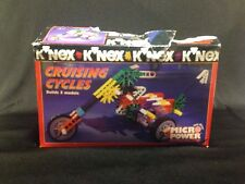 K'Nex Cruising Cycles Micro Power Building Model Set. Knex Bricks 11112 Open Box