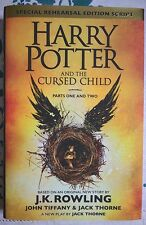 Harry Potter and the cursed child,1a edizione e PRIMA STAMPA 1/1st FIRST EDITION