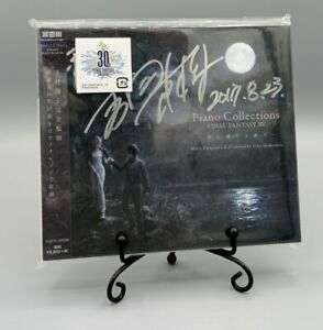 FINAL FANTASY® XV - PIANO COLLECTIONS [CD] signed by Naoki Yoshida [Yoshi-P]