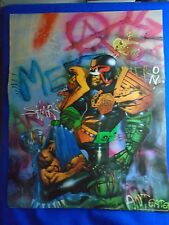 ~~ JUDGE DREDD BY SIMON BISLEY ~ 1992 ~ 19X24 POSTER FROM SQP ~ HARD TO FIND! ~~