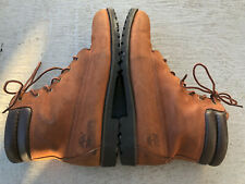TIMBERLAND WOMEN'S GENUINE LEATHER WINTER WATERPROOF BOOTS BROWN SIZE 8