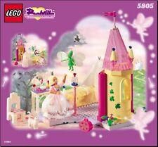 Lego  5805   belville la chambre comme neuf