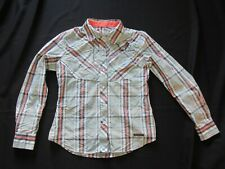 Simms Guide Series Gallatin River Lodge Pearl Snaps Fly Fishing Women's Shirt