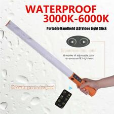 Handheld LED Video Ice Light Waterproof Photography Lamp Stick w/ Remote Control