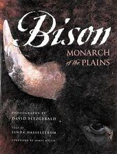 Bison Monarch of the plains - D. Fitzgerald - Graphic Arts Center Publ. - U086