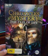 Chronicles Mystery - The Tree of Life -  PC GAME - FREE POST *