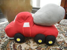 Cement Mixer Plush Pillow Construction Machine Decor Bedding WPC