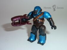 Halo Mega Bloks Set #97084 Covenant Cobalt Brute with Plasma Rifle Figure