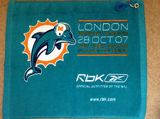 MIAMI DOLPHINS GOLF/BOWLS/FISHING/CAMPING/TOWEL. MADE BY REEBOK