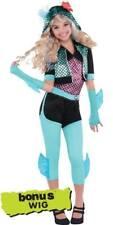 DELUXE LAGUNA BLUE MONSTER HIGH DOILL CHILD GIRLS HALLOWEEN COSTUME XL 14-16