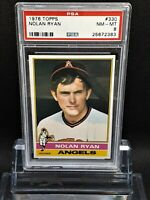 1976 Topps #330 Nolan Ryan - HOF - Angels - PSA 8 - NM-MT - 25672383 - SCA