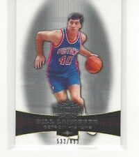 2006-07 TOPPS TRIPLE THREADS BASKETBALL BILL LAIMBEER #99 #532/899 - DET PISTONS